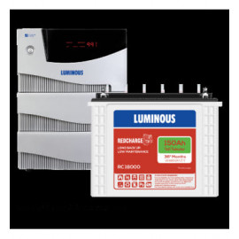 LUMINOUS CRUZE+ 3.5KVA + RED CHARGE RC 18000 (4NOS)