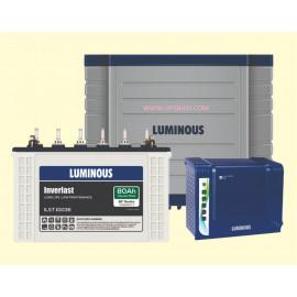 Luminous Eco Volt 650 Sinewave+ ILST10036 80Ah + Trolley